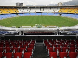 Campo de juego del Estadio Maracaná (Río de Janeiro)