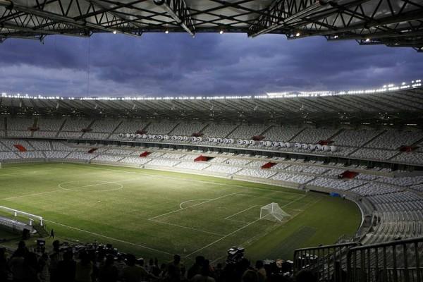 Terreno de juego del Estadio Mineirao, Belo Horizonte