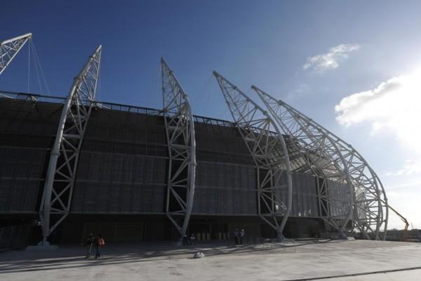 Exterior del Estadio Castelao