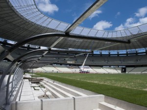 Postal: Construcción del Estadio Castelao