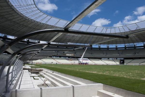Construcción del Estadio Castelao