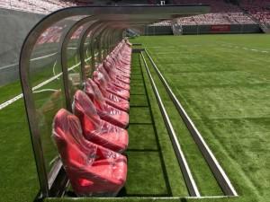 Bancas de relevos (Estadio Arena Pernambuco, Recife)
