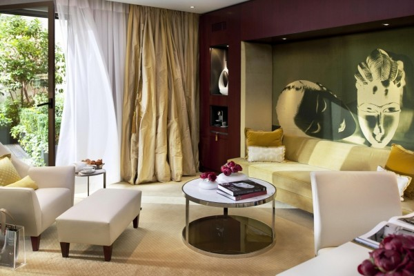 Bella y moderna sala de estar