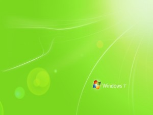 Postal: Logo y Windows 7