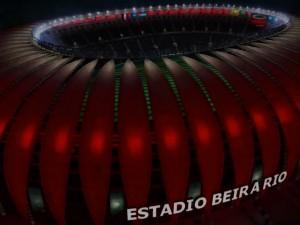 Postal: Estadio Beira-Rio (Porto Alegre, Brasil)