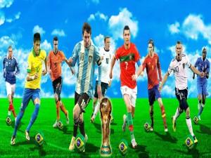 Jugadores preparados para el Mundial 2014