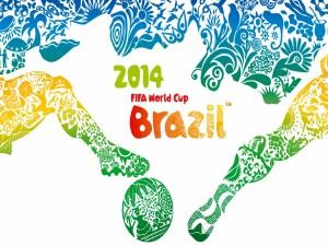Postal: Mundial de Fútbol Brasil 2014