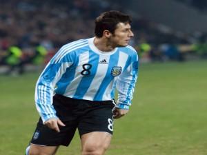 Javier Zanetti, jugador de la Selección Argentina
