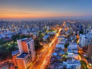 Postal: Vista de la ciudad Belo Horizonte