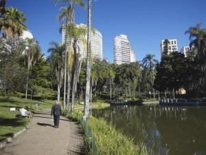 Postal: Parque Municipal de Belo Horizonte