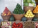 Frutas expuestas