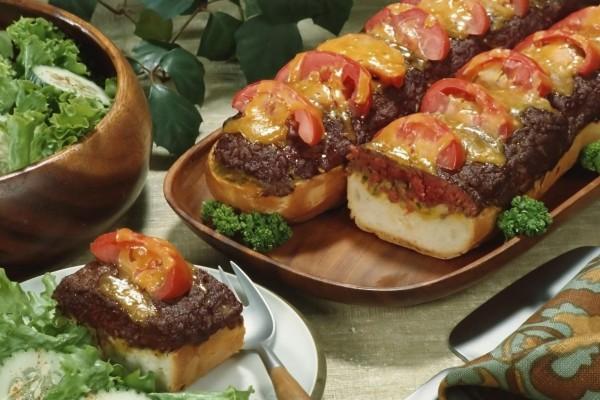 Bocadillo de hamburguesa