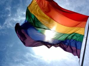 La bandera del arcoíris (LGBT)