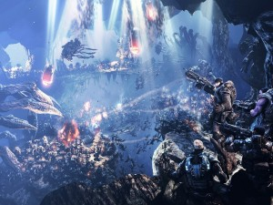 Batalla en Gears Of War 2