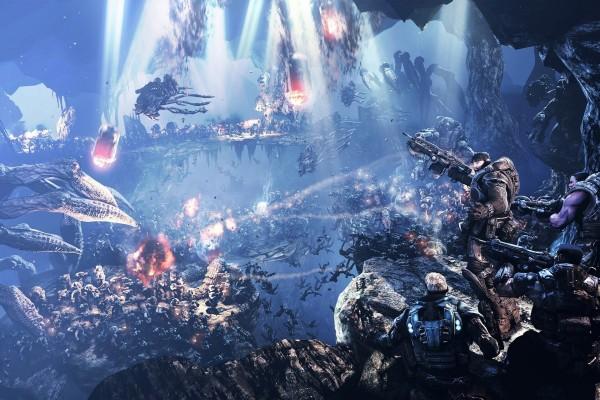 Batalla en Gears Of War 2