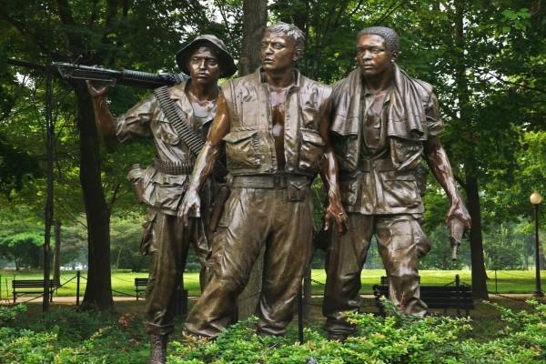 Los Tres Soldados, Memorial a los Veteranos del Vietnam ( Washington D. C.)