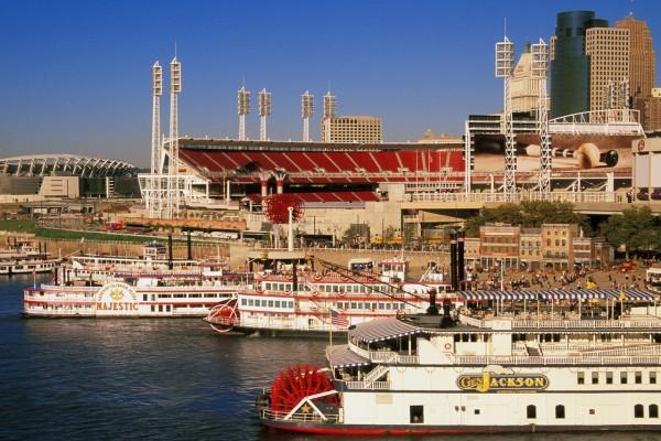 """Cincinnati en la celebración del festival """"Tall Stacks"""""""