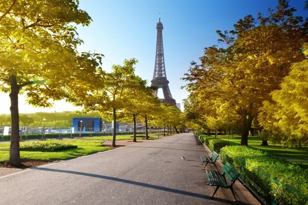 La Torre Eiffel al final del camino