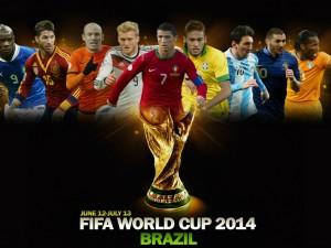 Postal: 12 de Junio comienza la Copa del Mundo Brasil 2014