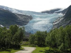 Glaciar Svartisen, Noruega