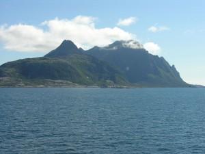 Peñasco de Landegode, Noruega