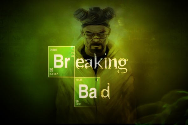 Breaking Bad y dibujo de Walter White