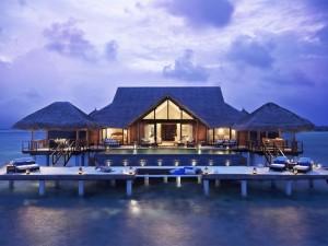 Magnífica casa sobre el agua