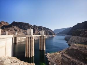 Vista de la presa Hoover