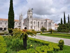Postal: Monasterio de los Jerónimos (Lisboa, Portugal)