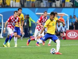 Primer partido del Mundial 2014, Brasil - Croacia