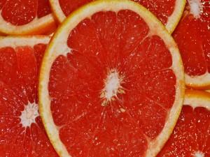Rodajas de naranja sanguina