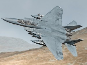 Postal: Avión F15E