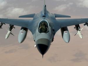 Avión de combate F-16