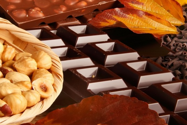 Avellanas y chocolate