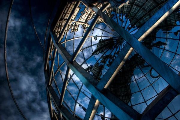 Estructura de un globo terráqueo