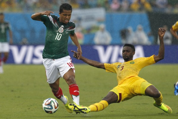 México vs Camerún (Mundial de Brasil 2014)