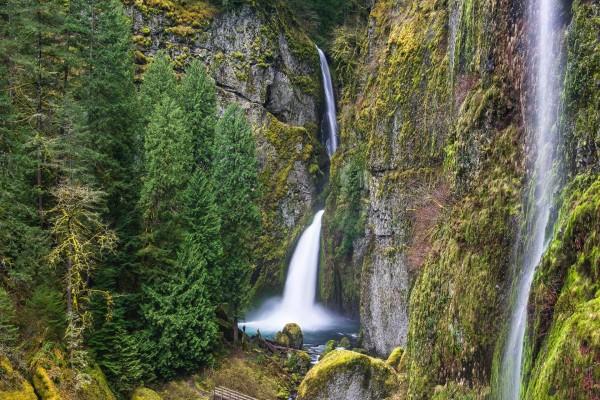 Garganta del río Columbia (Estados Unidos)