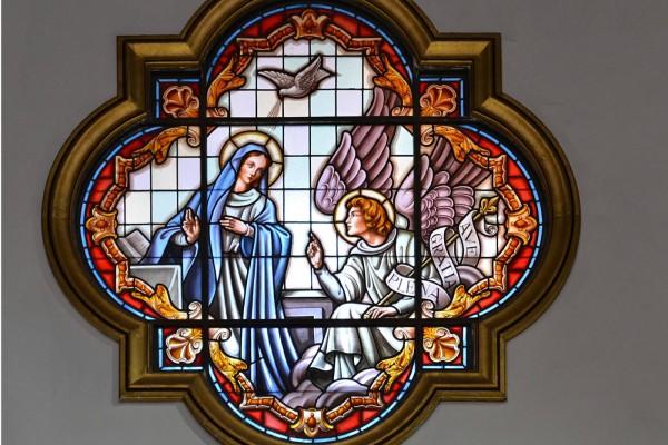 Vitral Nuestra Señora de la Candelaria (Tenerife, Islas Canarias)