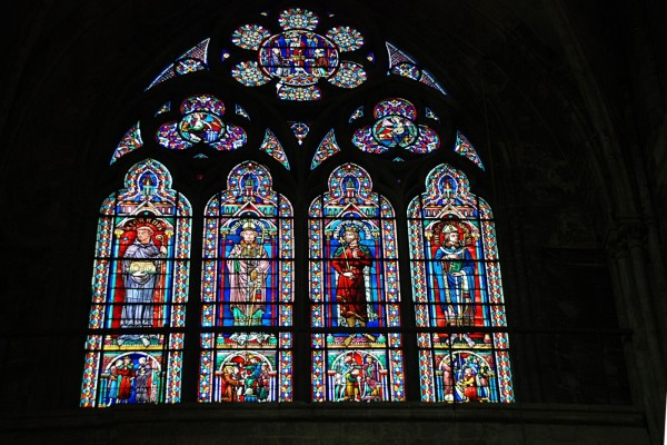 Vidrieras en la Iglesia de Saint-Jacques