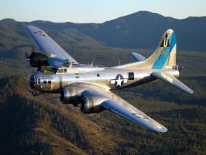 Postal: Bombardero B-17