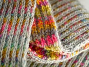 Bufanda de varios colores