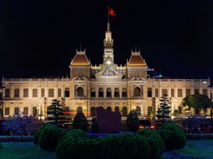 Postal: Ayuntamiento de la ciudad Ho Chi Minh (Vietnam)