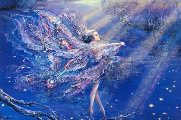 Hada bajo el agua