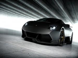 Un deportivo Lamborghini