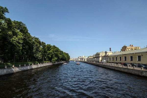 Río Fontanka, San Petersburgo