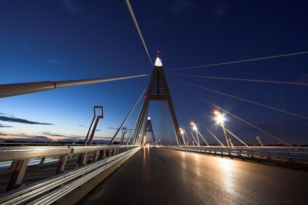 Puente Megyer (Budapest, Hungría)
