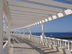 Paseo marítimo de playa Fañabé (Costa Adeje, Tenerife)