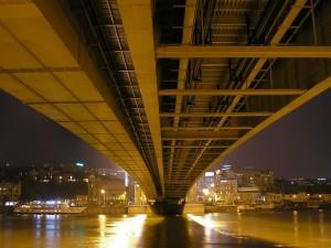 Zona inferior del puente de Branko