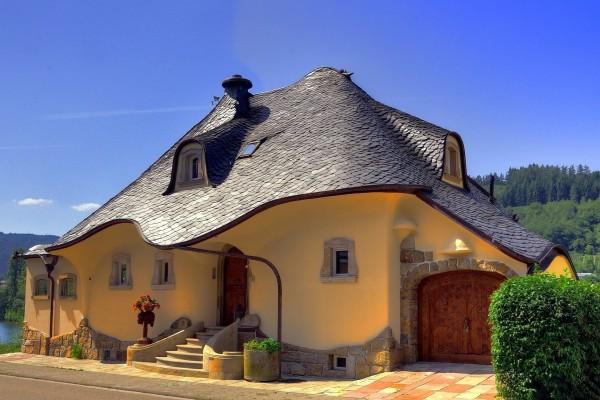 Hermosa y original casa cerca de un río (Alemania)