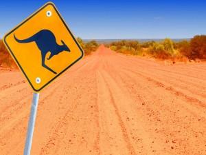 Postal: Carretera australiana
